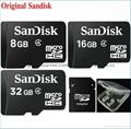 Sandisk/閃迪 16G 高速TF卡 CLASS10存儲microSD卡 手機內存卡SD內存卡,TF內存卡 6