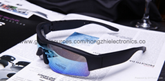 new Blue light bluetooth glasses fashion wear black gold