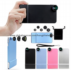 iphone6 plus lens combination Phone Case Triple camera protective case