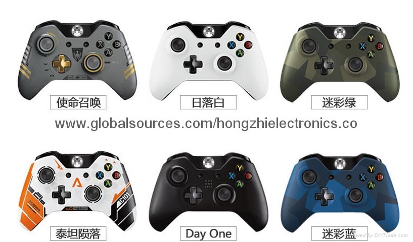 XBOX ONE遊戲手柄 xboxone原裝原殼無線手柄 袋裝對碼 1