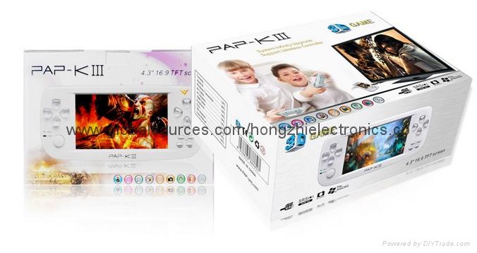 PAPK3 遊戲掌機 MP5儿童遊戲機 經典掌上遊戲機 64位遊戲 12