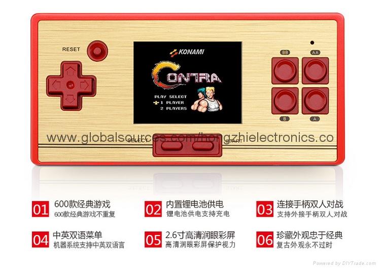 PAPK3 遊戲掌機 MP5儿童遊戲機 經典掌上遊戲機 64位遊戲 16