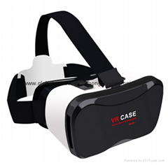 VR BOX phone 3D glasses Virtual reality headset  Mini VR CASE