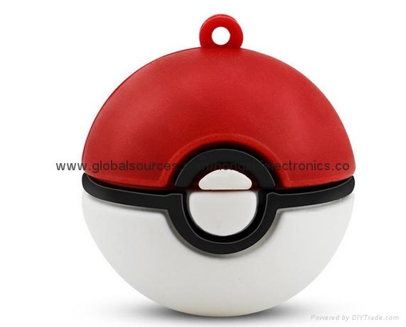 Creative Elf Ball Pokémon U disk  Game Pokemon cartoon gifts USB 3
