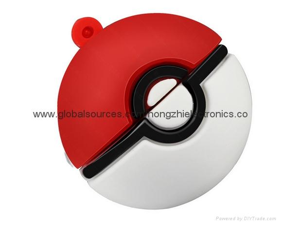 創意 卡通遊戲口袋妖怪禮品優盤 精靈球神奇寶貝U盤 廠家批發 4