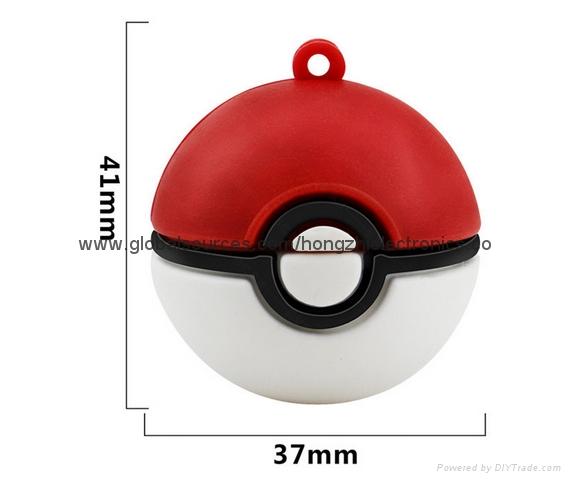 Creative Elf Ball Pokémon U disk  Game Pokemon cartoon gifts USB 16