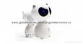 New creative cartoon white mini subwoofer wireless Bluetooth stereo speaker