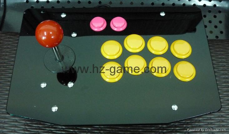 新款上市格鬥手機電視機頂盒加長杆街機遊戲搖桿電腦USB搖桿拳皇 3