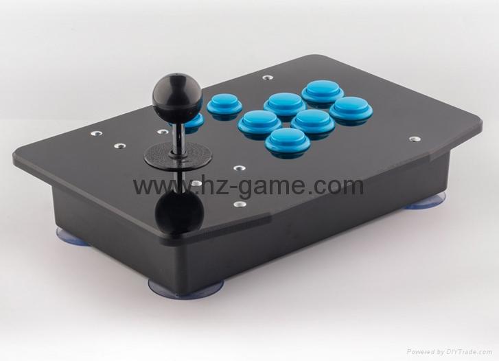 新款上市格鬥手機電視機頂盒加長杆街機遊戲搖桿電腦USB搖桿拳皇 8