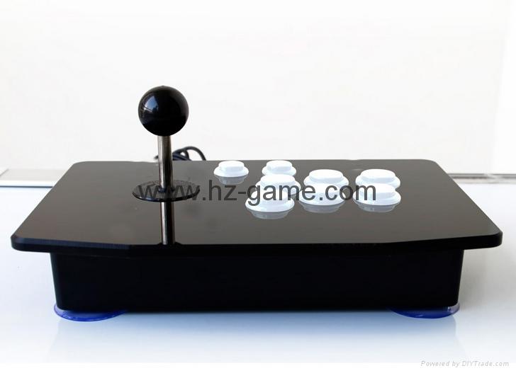 新款上市格鬥手機電視機頂盒加長杆街機遊戲搖桿電腦USB搖桿拳皇 10