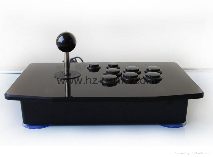新款上市格鬥手機電視機頂盒加長杆街機遊戲搖桿電腦USB搖桿拳皇 14