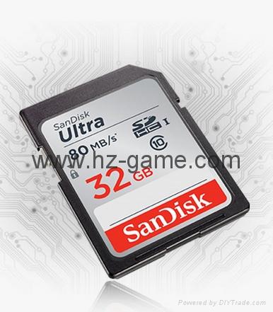 东芝SD卡16GB32G class10 EXCERIA SDHC C10 读95M写60M 高速单反相机 8