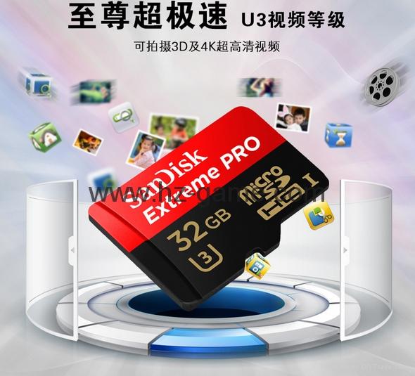 工廠直銷閃迪手機內存卡16g 32g class10高速tf卡存儲卡記錄儀卡 14
