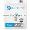 HP惠普 手机u盘16GB/32GBType-C双接口 x5000m 金属旋转优盘 19