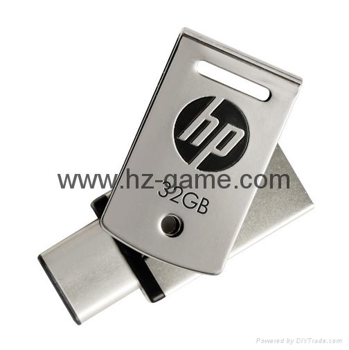 HP惠普 手機u盤16GB/32GBType-C雙接口 x5000m 金屬旋轉優盤 5