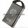 HP惠普 手机u盘16GB/32GBType-C双接口 x5000m 金属旋转优盘 9