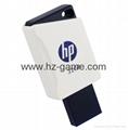 HP惠普 手机u盘16GB/32GBType-C双接口 x5000m 金属旋转优盘 16