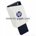 HP惠普 手機u盤16GB/32GBType-C雙接口 x5000m 金屬旋轉優盤 16