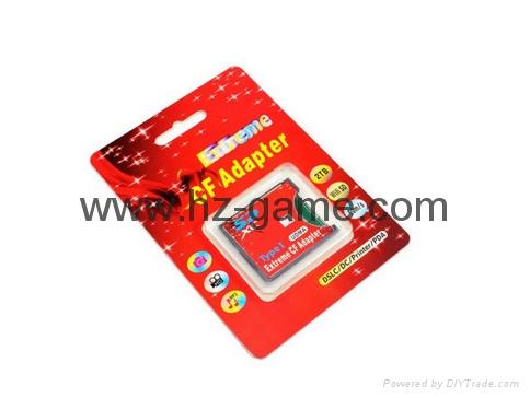 SD轉CF卡套轉接slim卡套CFI型單反相機卡托WIFISD適配器 3