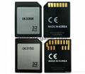 SD轉CF卡套轉接slim卡套CFI型單反相機卡托WIFISD適配器 20