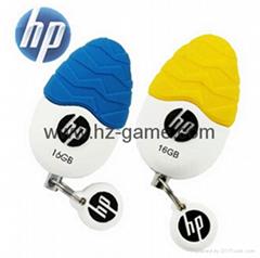 批發惠普HP U盤V270W 16g可愛蛋形u盤 u盤廠家 u盤批發