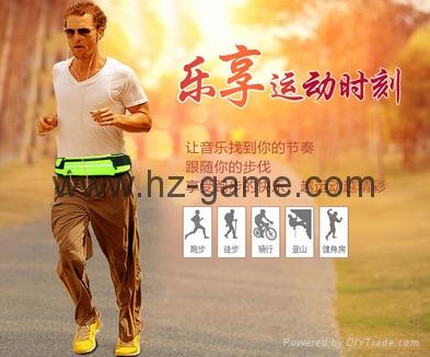 批發多功能跑步腰包新款戶外運動腰包防水腰包手機配件包 4