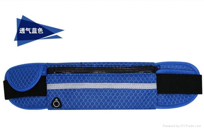批發多功能跑步腰包新款戶外運動腰包防水腰包手機配件包 8