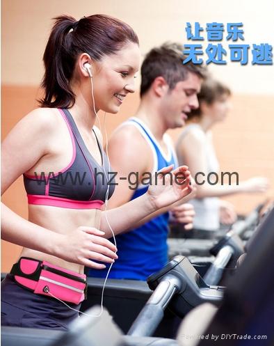 批發多功能跑步腰包新款戶外運動腰包防水腰包手機配件包 3