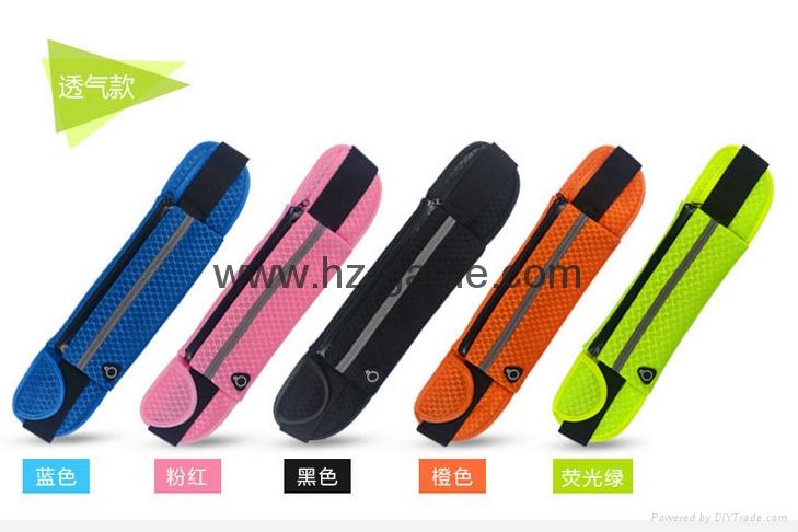 批發多功能跑步腰包新款戶外運動腰包防水腰包手機配件包 1