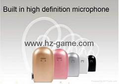 新款V19 v4.1 通用立體聲藍牙耳機 支持所有手機 聲控接聽 語音報號