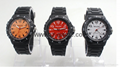 Colorful multi - functional student sports waterproofing unit camouflage watch