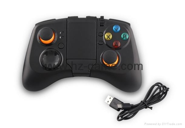 新版 私模 PS4無線藍牙振動遊戲手柄 無線藍牙PS4遊戲手柄震動 5