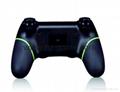新版 私模 PS4無線藍牙振動遊戲手柄 無線藍牙PS4遊戲手柄震動 7