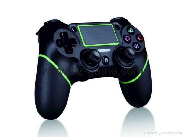 新版 私模 PS4無線藍牙振動遊戲手柄 無線藍牙PS4遊戲手柄震動 1