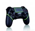 新版 私模 PS4無線藍牙振動遊戲手柄 無線藍牙PS4遊戲手柄震動 14