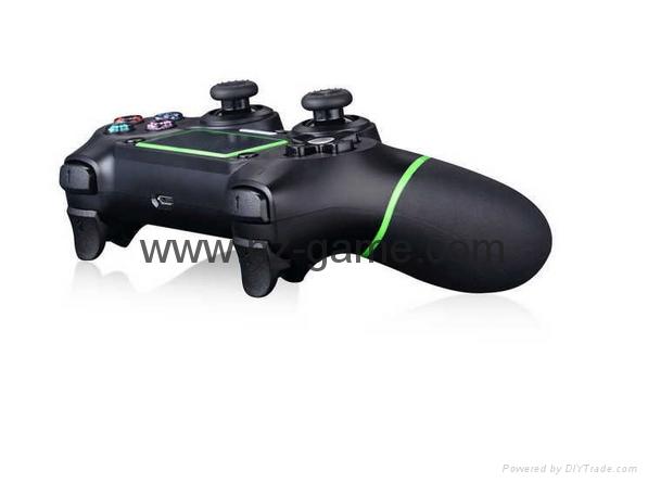 新版 私模 PS4無線藍牙振動遊戲手柄 無線藍牙PS4遊戲手柄震動 15