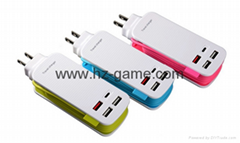 Burst models Qualcomm QC3.0 quick charger Type-c charger mobile phone charger