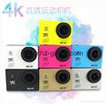 Ultra HD4K Action Camera wifi Camcorder f60 Waterproof Sport Camera