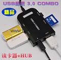 Type-c TF aluminum card Usb 3.1 type-c to tf OTG card reader  reader 7