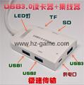 Type-c TF aluminum card Usb 3.1 type-c to tf OTG card reader  reader 11