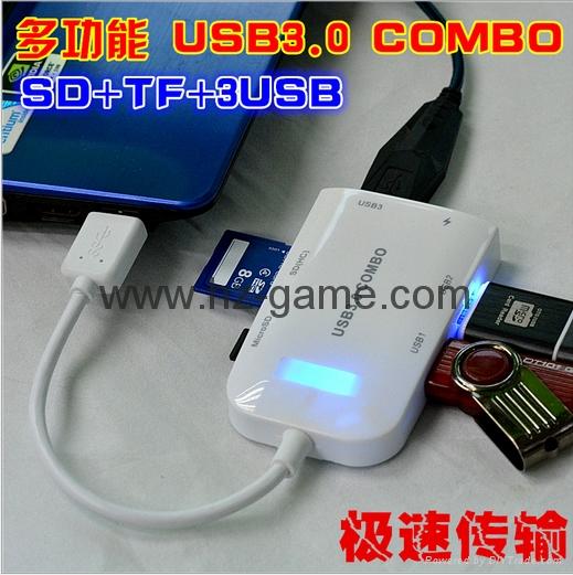Type-c TF aluminum card Usb 3.1 type-c to tf OTG card reader  reader 14