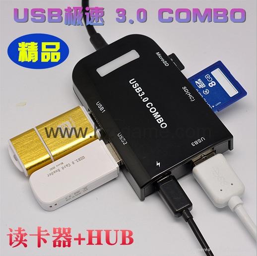 Type-c TF aluminum card Usb 3.1 type-c to tf OTG card reader  reader 19