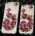 Apple fashion rose iphone76S plus diamond shell fall protection