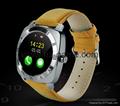 新款X3全圓屏智能手錶手機電話