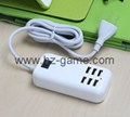 4USB smart fast charge portable digital charger multi-function charger wholesale
