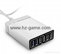 USB 2.0Multi-port charger fast charge 6