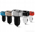 Qualcomm fast charge metal car charger