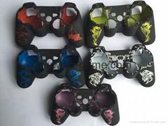 PS4手柄保護套 PS4硅膠套 變形金剛保護套 優質個性炫彩膠套