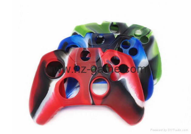 XBOX ONE 360/ps4Silicone Case Camouflage Silicone Protetion Case Skin Grip Cover 13