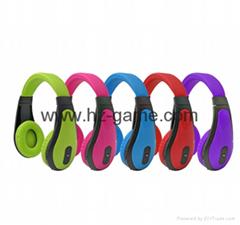 新款 頭戴式藍牙耳機帶插卡FM功能  無線藍牙耳機 廠家直銷